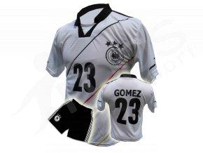 Fotbalový komplet Německo Gomez - bílý