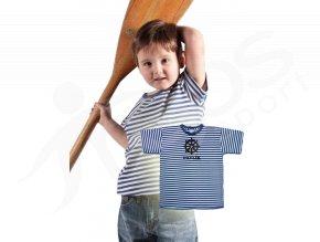Dětské námořnické tričko TOP Kormidlo a jméno