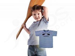 Dětské námořnické tričko TOP Pádla a jméno