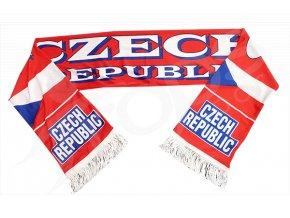 Sportovní šála ČESKÁ REPUBLIKA - sublimační