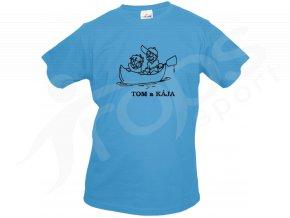 Dětské vodácké tričko loď vlastní text