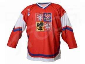 Hokejový dres CZECH TOP - červený