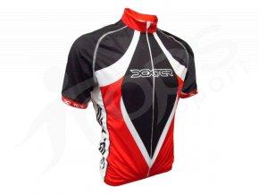 Cyklistický dres LANCE - červený