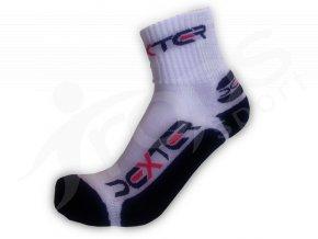 Ponožky DEXTER klasic froté bílo-černé