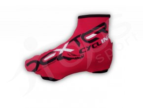 Návleky na boty light DEXTER CYCLING červené