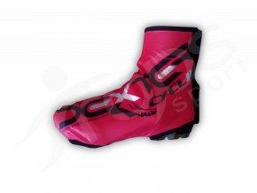 Termo návleky na boty DEXTER CYCLING - červené