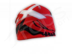 Zimní čepice Gava Dexter červená