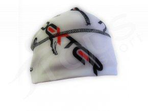 Zimní čepice GAVA DEXTER LOGA bílá