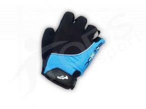 Cyklo rukavice DEXTER GEL GRIP modré