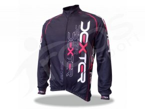 Cyklistický termodres IMAGE - černo červený