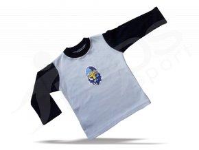 Baby TRIČKO RYTÍŘI KLADNO - bílo modré