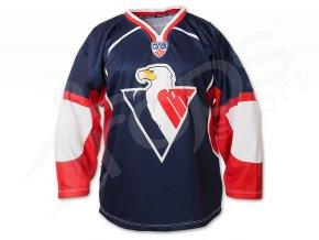 Hokejový dres HC SLOVAN BRATISLAVA - modrý