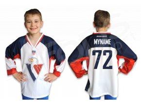 Hokejový dres HC SLOVAN BRATISLAVA dětský - bílý
