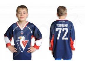 Hokejový dres HC SLOVAN BRATISLAVA dětský - modrý
