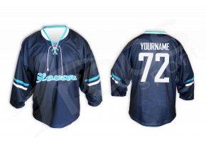 Hokejový dres RETRO HC SLOVAN BRATISLAVA - modrý