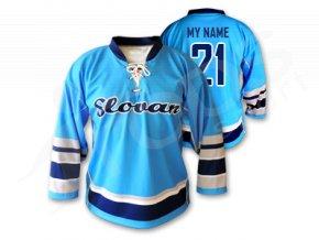 Hokejový dres RETRO HC SLOVAN BRATISLAVA - světle modrý
