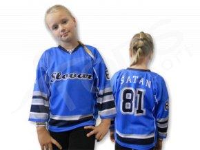 Hokejový dres HC SLOVAN BRATISLAVA dětský - světle modrý