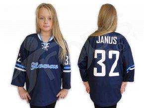 Hokejový dres RETRO HC SLOVAN BRATISLAVA dětský - modrý