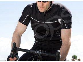 cyklisticky dres bike full cerny