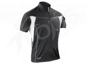 Cyklistický dres Spiro Bike FULL černý