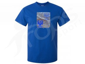 Tričko CZECH - modré