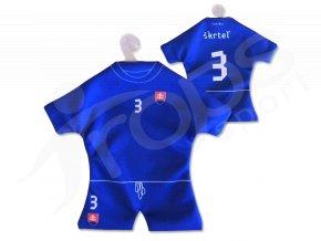 Fotbalový mini dres SLOVENSKO - VLASTNÍ JMÉNO A ČÍSLO