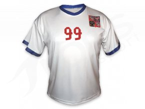 Fotbalový dres CZECH TOP bílý