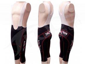 Cyklistické kalhoty s laclem IMAGE - golfky červené