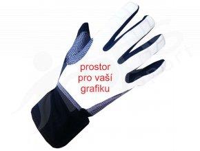 Cyklo rukavice DEXTER dlouhoprsté zimní - subli