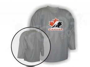 Hokejový dres tréninkový Kanada - brankářský