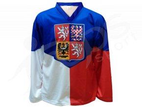 Hokejový dres ČR 2014 - domácí