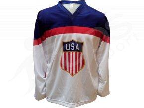 Hokejový dres USA domácí