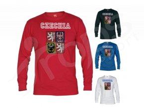 Tričko CZECHIA dlouhý rukáv