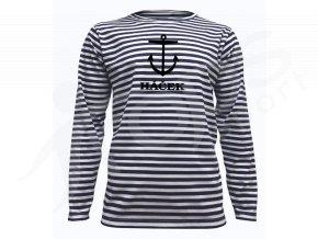 Námořnické tričko Sailor DR Kotva a jméno
