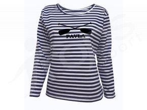 Dámské námořnické tričko Sailor DR Pádla a jméno