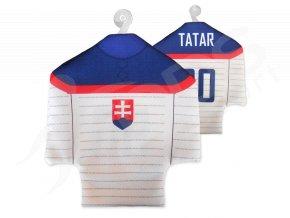 Hokejový mini dres SLOVENSKO 2014 - bílý
