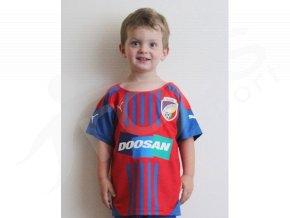 Dětský fotbalový dres FC VIKTORIA PLZEŇ 14/15 domácí