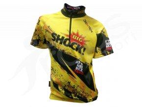 Cyklistický dres BIG SHOCK race dětský