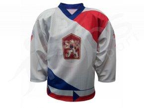Hokejový retro dres ČSSR 1986, bílý