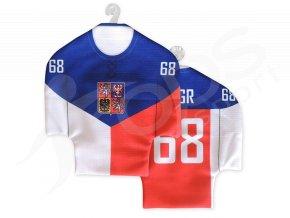 Hokejový mini dres ČR vlajka 2014