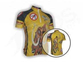 Cyklistický dres MAMUT dětský