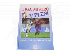 Kniha Liga mistrů v Plzni