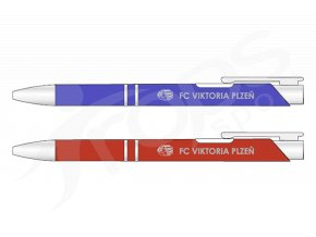 Propiska FC Viktoria Plzeň, kovová
