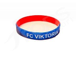 Silikonový náramek FC Viktoria Plzeň pro dospělé