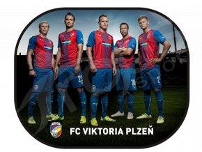 Stínítka do auta FC Viktoria Plzeň, 2ks