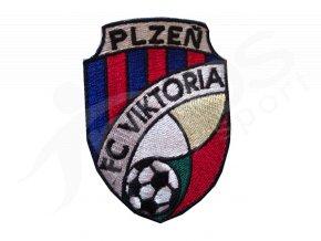 Nažehlovací logo FC Viktoria Plzeň