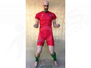 fotbalovy komplet stulpny ronaldo portugalsko