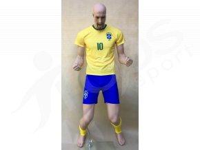 fotbalovy komplet stulpny neymar brazilie