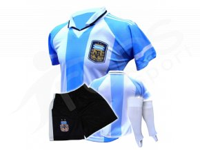 Fotbalový komplet Argentina + stulpny