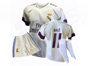 Fotbalový komplet Real Madrid Gareth Bale + stulpny